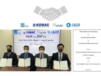 Signed Memorandum of Understanding (MOU) for Joint Develop Project (JDP)
