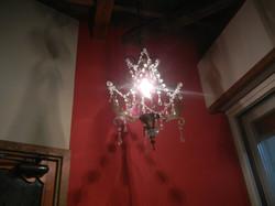 アンティークの照明