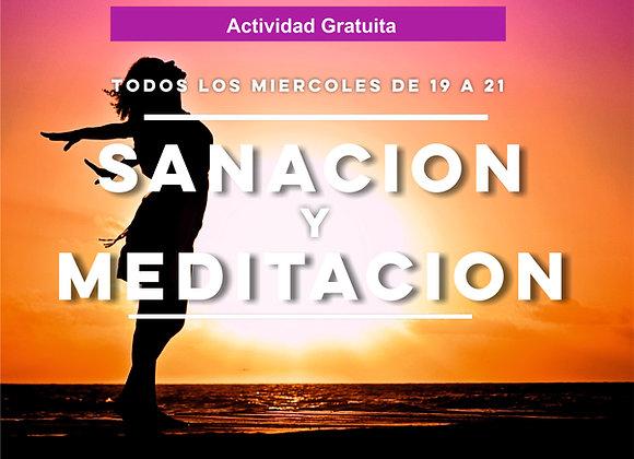 Jornadas de Sanación y Meditación (desde el 28/3)