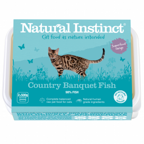 Cat Food Country Banquet Fish
