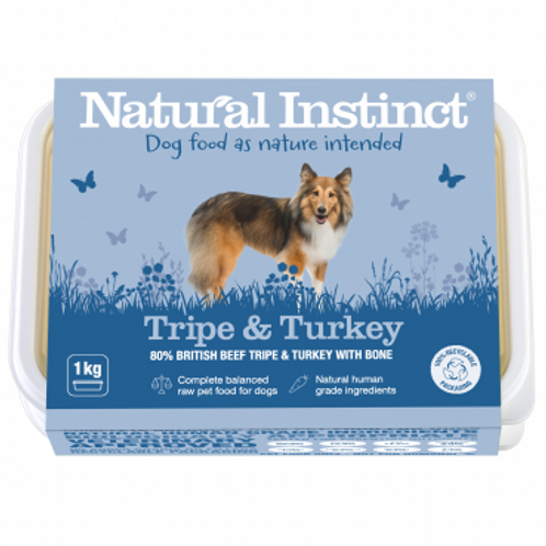 Natural Tripe and Turkey