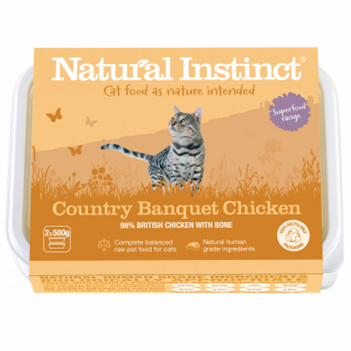 Cat Food Country Banquet Chicken