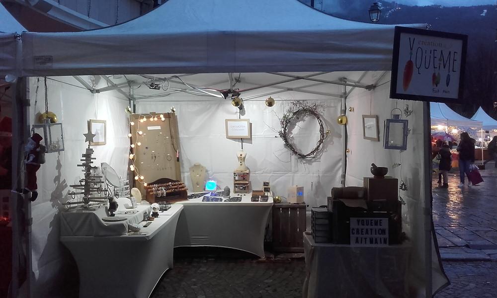marché de noel bourg st maurice, marché de noel, bourg st maurice, Yc Bijoux, marché savoie, bijoux marché, noel bijou, marché station, bijoux albertville