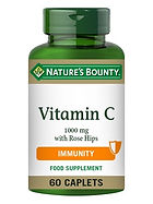 Natures Bounty Vitamin C 1000 mg with Ro