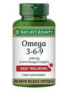 Natures Bounty Omega 3-6-9 1200 mg Activ