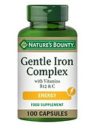 Natures Bounty Gentle Iron Complex with