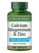 Natures Bounty Calcium Magnesium & Zinc