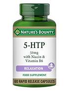 Natures Bounty 5-HTP 50 mg with Niacin &