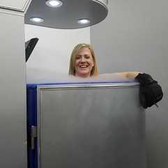 Yes, cryotherapy is this enjoyable! #cry