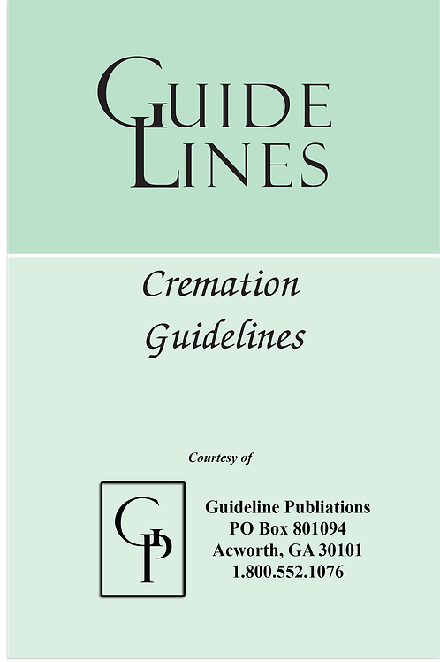 Cremation Guidelines