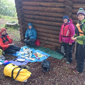 Canoe Camping in Scotland