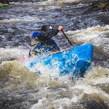 White Water Open Canoeing