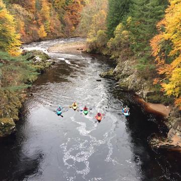 Scotland Peer Paddle Holiday