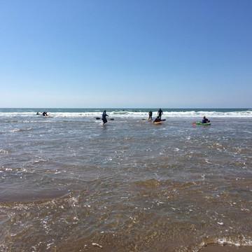 Bude Beginners Surf Kayaking