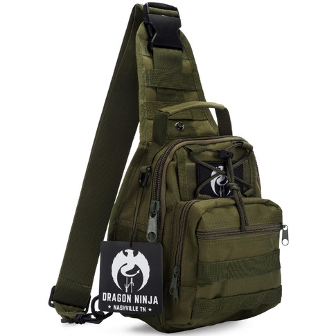 Dragon Ninja Tactical Sling Bag