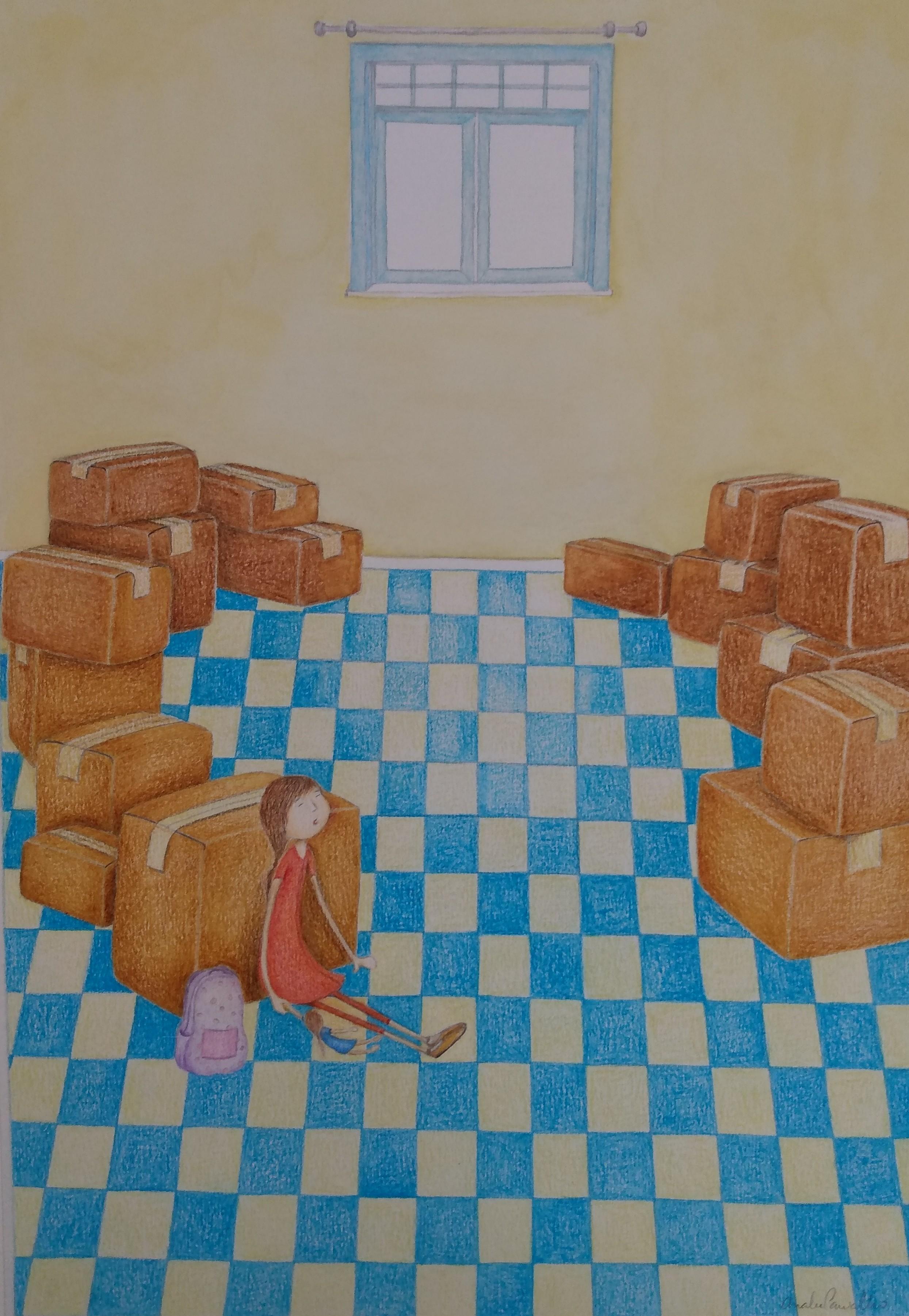 Ilustração livro infantil V