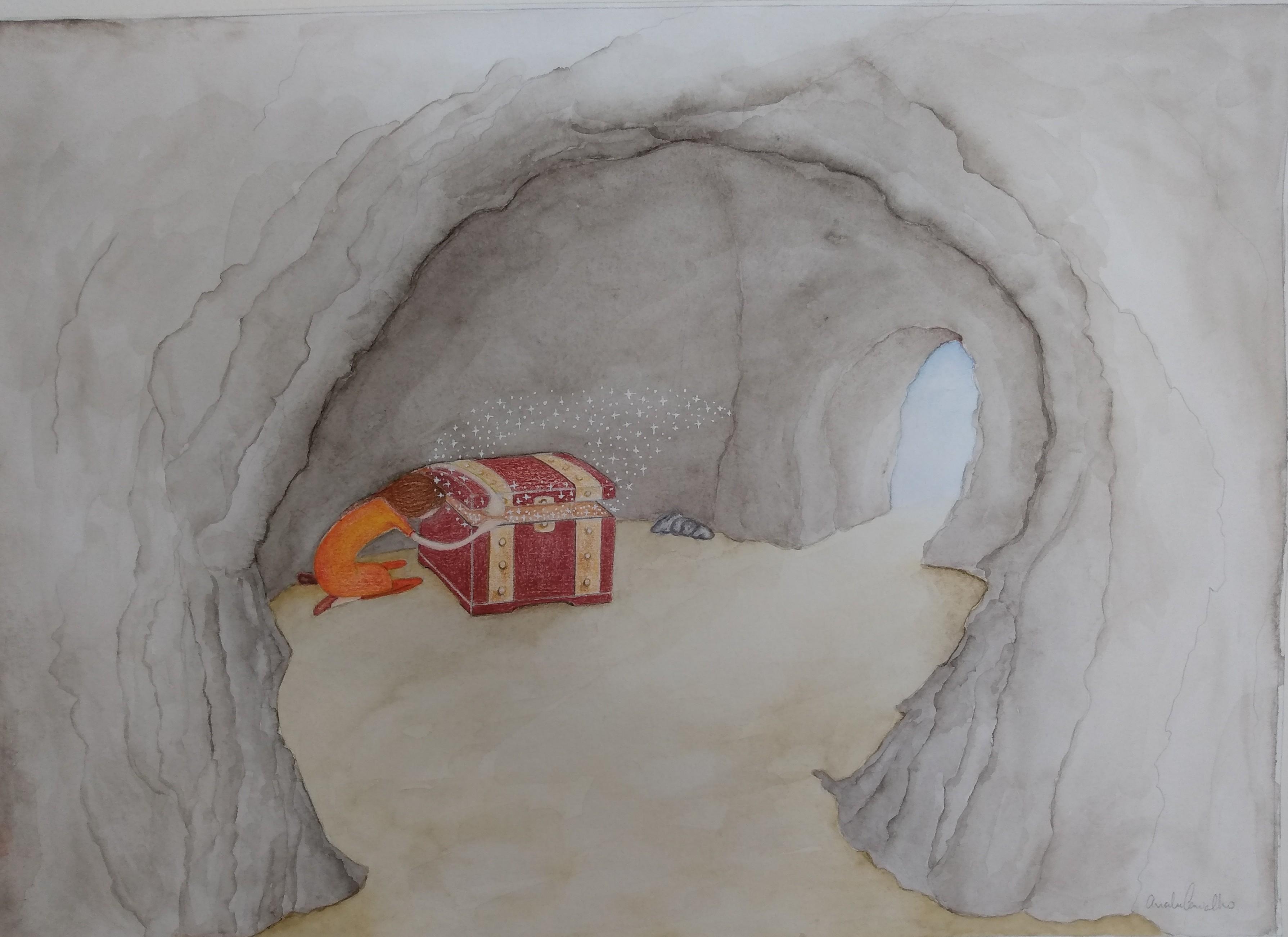 Ilustração livro infantil X