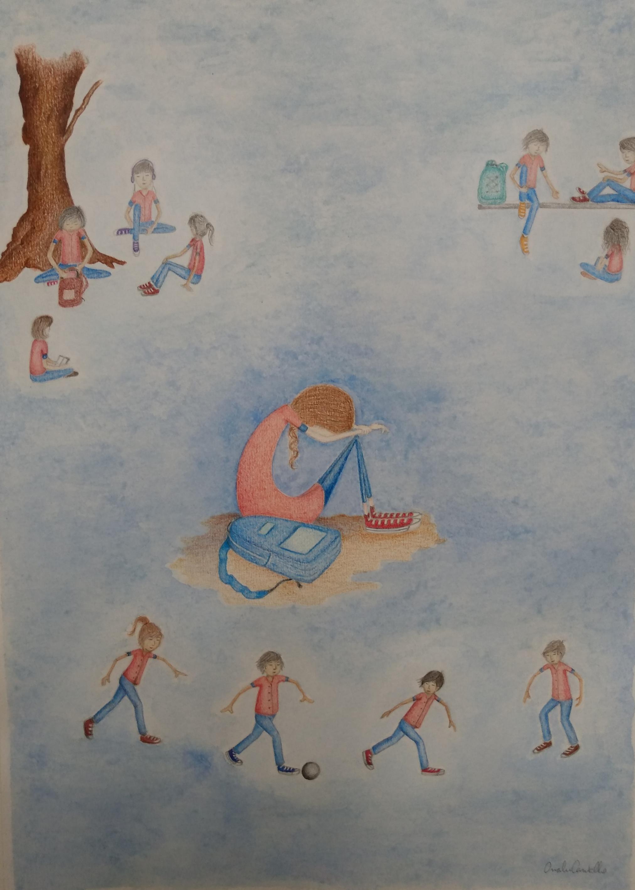 Ilustração livro infantil VI