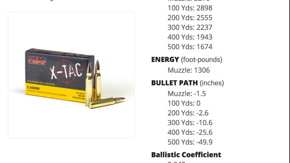 PMC X-TAC 5.56