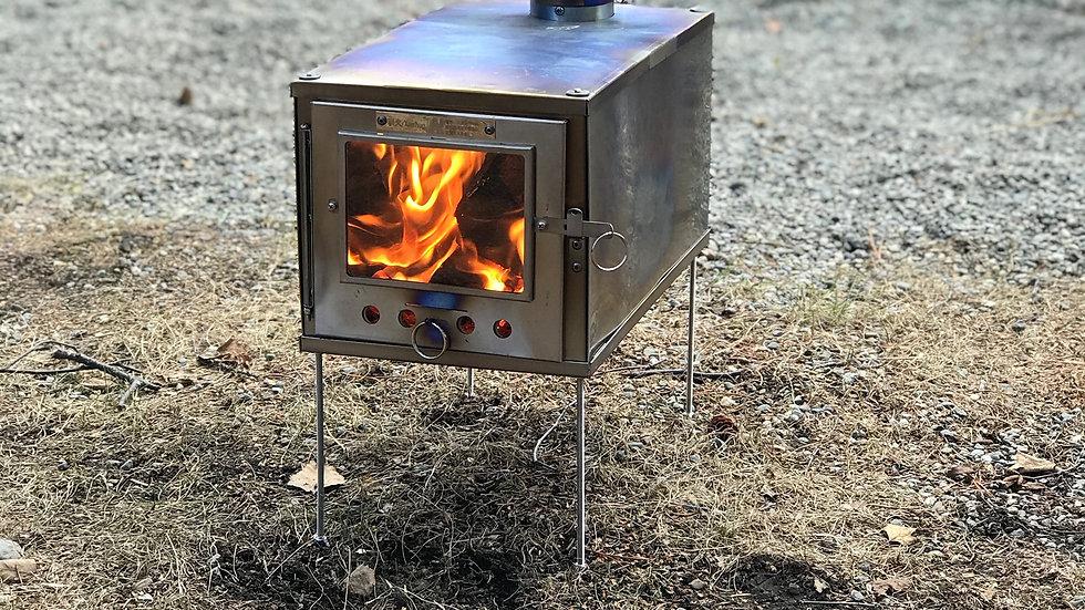 Ultralite Titanium woodstove