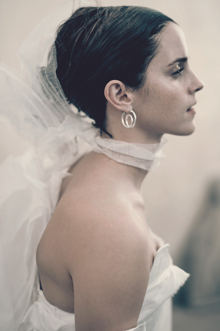 Emma Watson wears Matthew Needham for Pirelli Calendar 2020