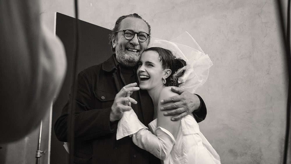 Emma Watson and Paolo Roversi