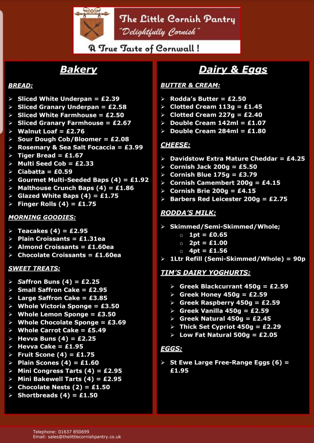 Food Order Service Page 1