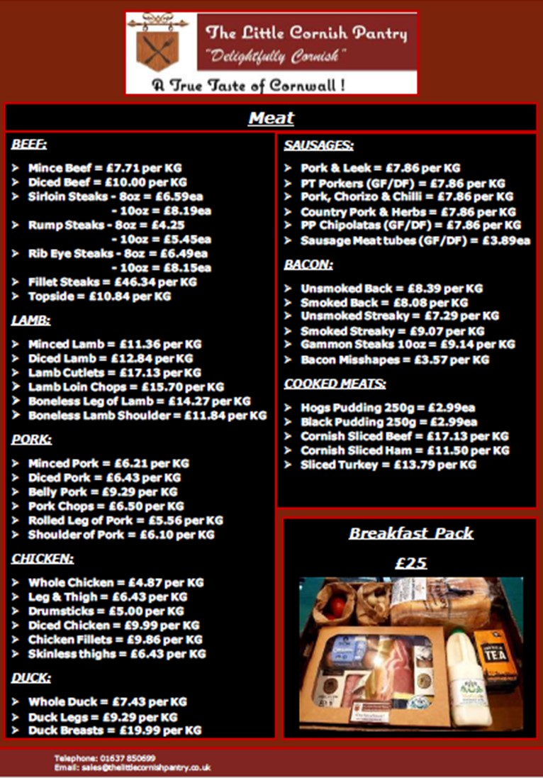 Food Order Service Page 3