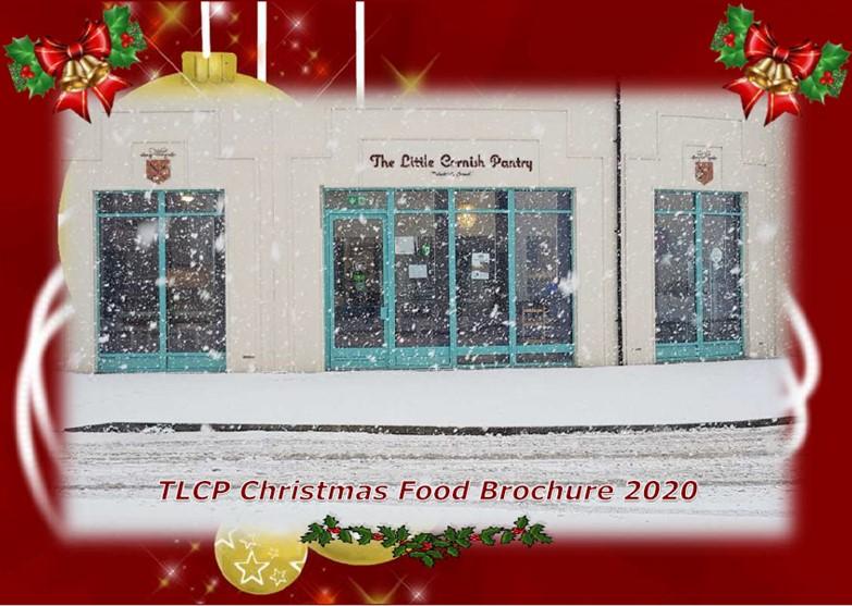 TLCP Xmas Food Brochure 2020 - Page 1