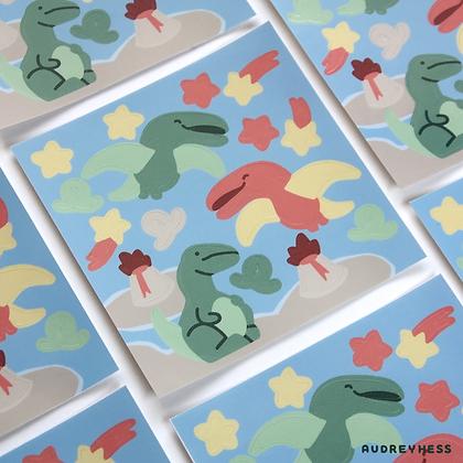 Mini planche stickers Tidino 1