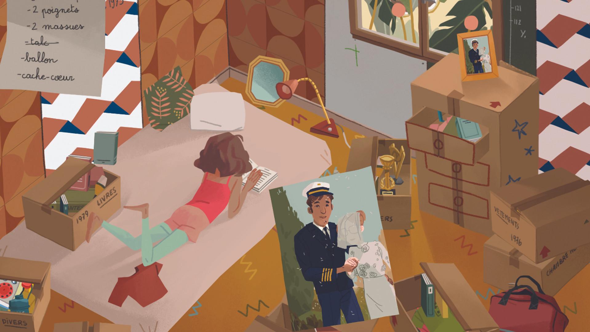 looK INside jeu vidéo unexpected page scène
