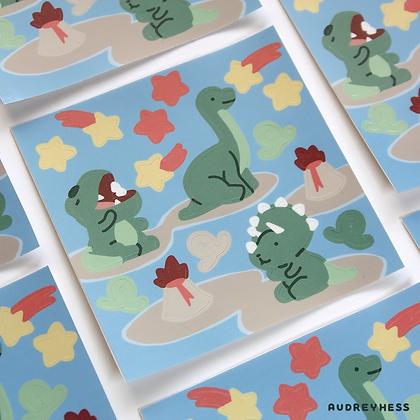 Mini planche stickers Tidino 2