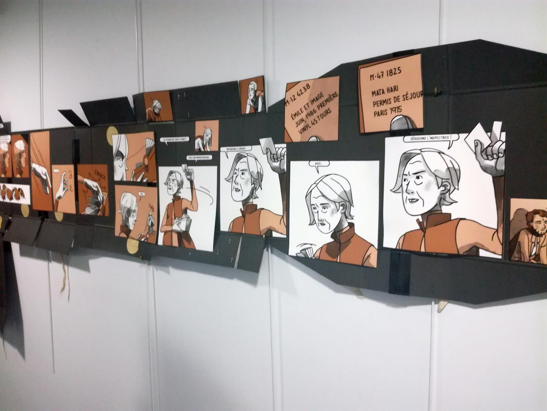 murmures aux archives Audrey Hess bande dessinée