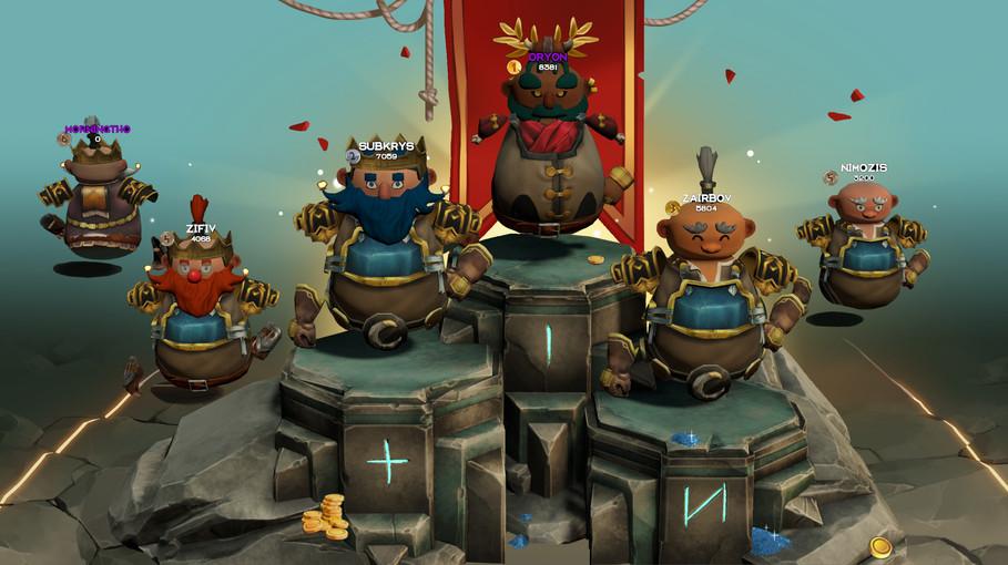 dwarf unexpected podium