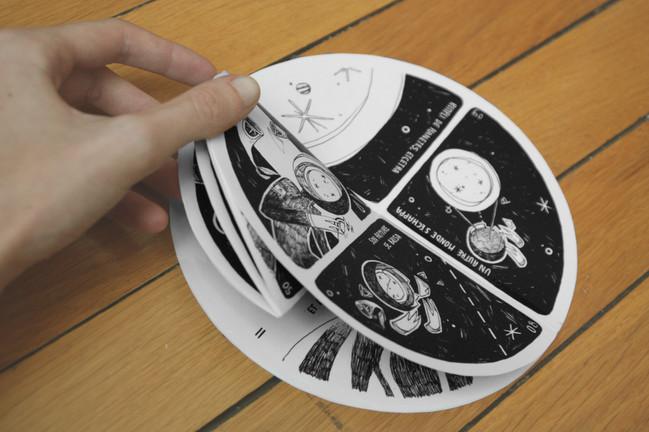 relativité bande dessinée Rutabaga Audrey Hess diy