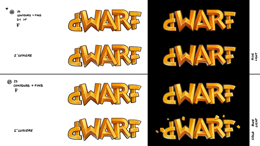 dwarf unexpected concept art logo Audrey Hess