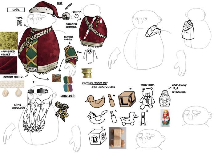 dwarf unexpected concept art character skin Audrey Hess