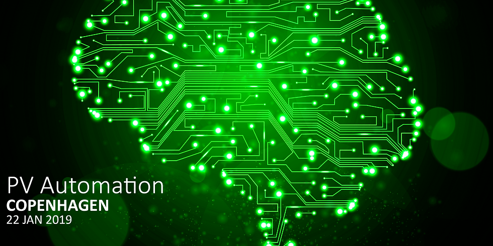 Industry event: PV automation & Artificial Intelligence (1)
