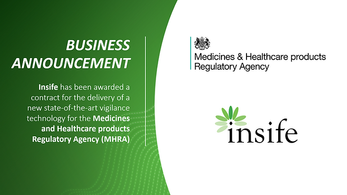 Insife awarded contract to deliver state-of-the-art vigilance technology platform for the MHRA