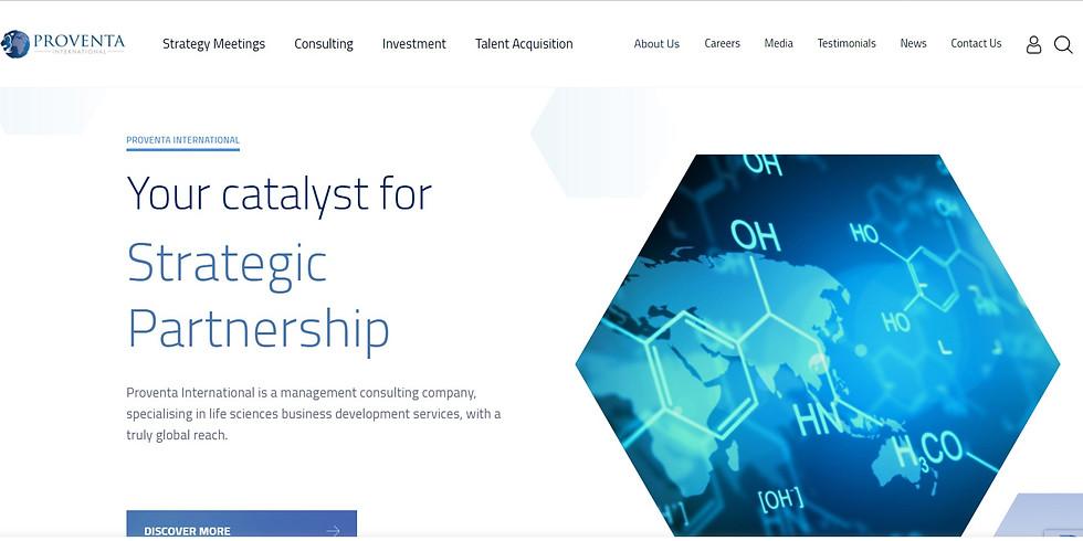 Proventa Pharmacovigilance Strategy meeting 2021