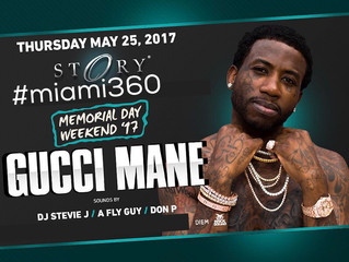 Story Miami | Story Nightclub | Gucci Mane live @ Story