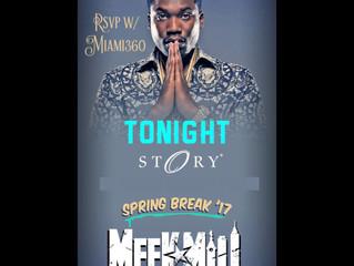 Meek Mill at Club Story Miami