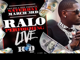 Ralo live at king of diamonds | open bar, party bus, and admission ticket