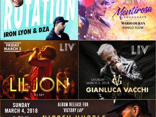LIV Miami Nightclub line up February 28