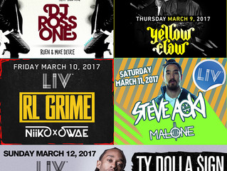 Tickets for Club LIV Events