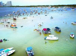 miami360 Boat party sandbar