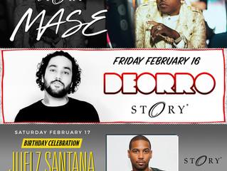 Story Nightclub line up feb.15