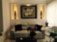 Projeto interiores sala de estar