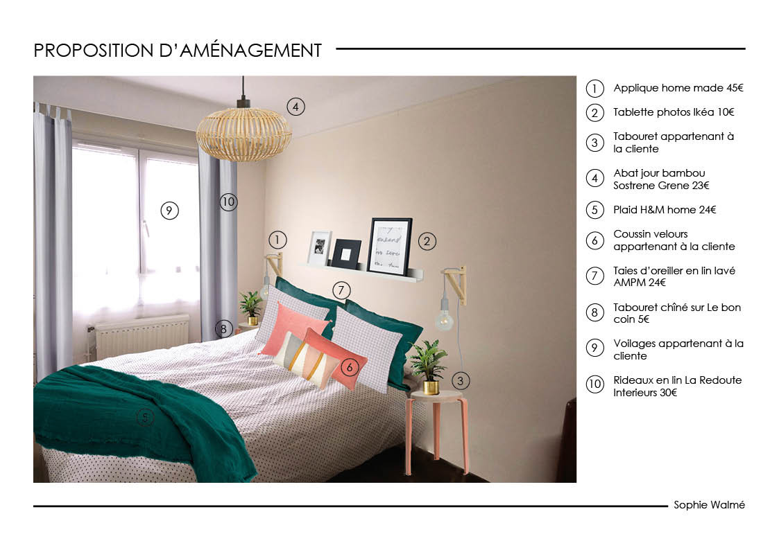 Home staging chambre simulation 2