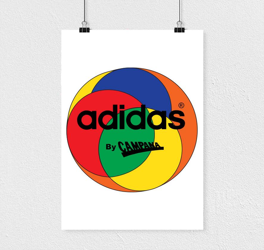 Logo Campana x adidas